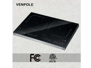 1800W FCC/cETLDouble Induction cooker 2 years warranty VP2-18A-3
