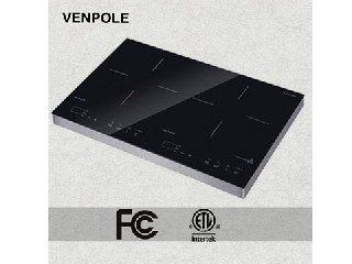 FCC/cETL 1800W Double Induction cooker 2 years warranty VP2-18A-2
