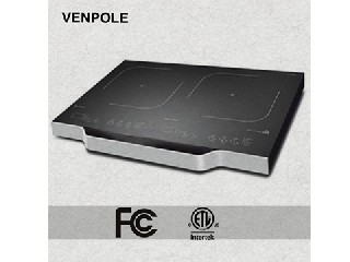 FCC/cETL 1800W Double Induction cooker 2 years warranty VP2-18A-1