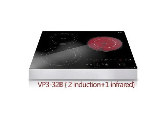 induction cooker and infrared cooker,triple oven VP3-32B