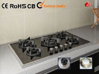 Tempered Glass 5 Burner Gas Cooktop  YG-5G125