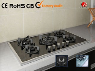 New Design 5 BURNER Gas Hob with Tempered Glass YG-5G124