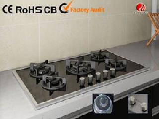 Tempered Glass 5 BURNER Gas Stove fo Sale YG-5G121
