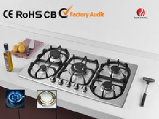 5 burner built in gas hob YG-5G155
