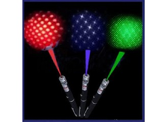 5mw Green Violet Light 532nm 2in1 Beam Laser Pointer Pen With Star Cap Efit For SOS Mounting Night H