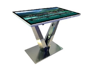 FHD metal grid touch table for conference