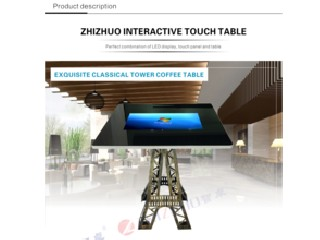42 inch LCD touch TFT type touch screen coffee table