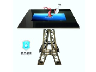 Indoor HD waterproof touch screen interactive table restaurant with wifi