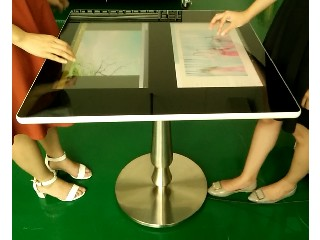 made in china supplier touch screen coffee table