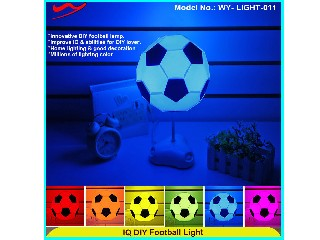 IQ DIY Football Light unisex education intelligence toys LIGHT-011G