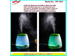 2013 executive gifts led bottle humidifier new ideas for hotels WY-4031G