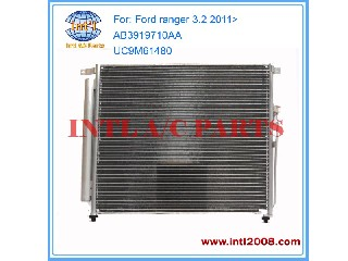 Air conditioning condenser assy for Ford Ranger T6 3.2 TDCi 2.2 / Mazda BT50 2011> AB3919710AA AB391