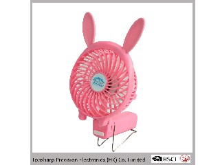 Promotional high quality handy power bank mini table fan HF-3081