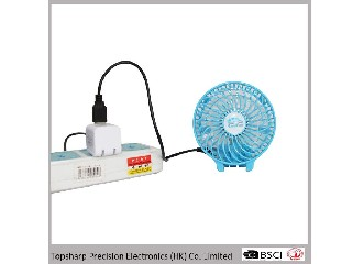 Christmas promotional gift mini usb led fan for phone HF-313