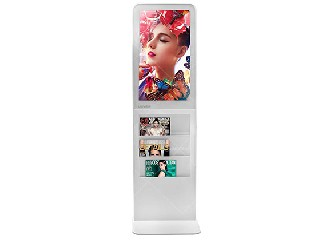 loor stand all-in-one digital brochure holder poster Screen size:22'', 27''  BH27-FS-10P