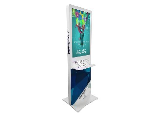 Customized LCD Charging Station Kiosk