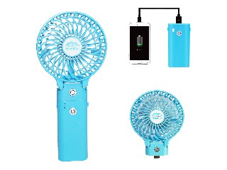Promotional multifunction electric handy mini air conditioner with power bank HF309