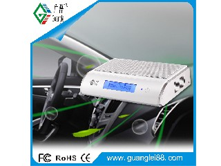 12V ozone car air purifier with HEPA filter