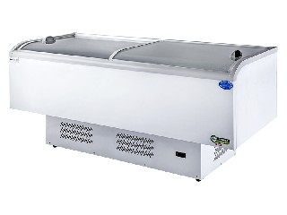 Large capacity design island freezer  KX-528PRA