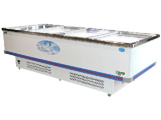 Strong freezing capacity island freezer KX-398WDZ