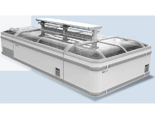 Combined supermarket island display freezer   KX-1.86PRS