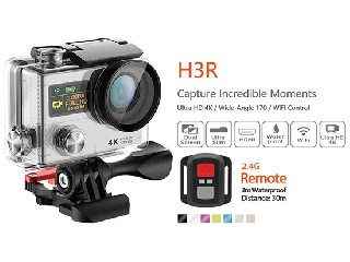 2inch 4K H3R 170 degree action camera(Remote controller)  H3R