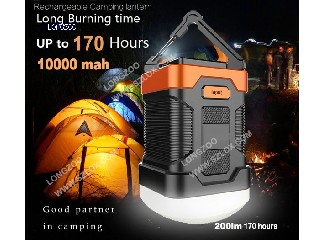 10000mah Camping lantern power bank  LZ-C6