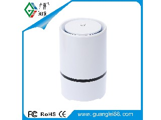 USB desktop negative ion air purifier withe HEPA filter
