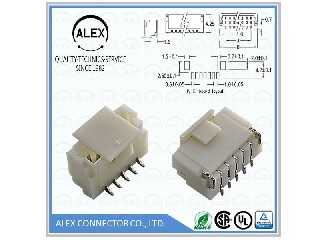 "Top Entry Header, SMT / .039""(1.00mm) Wire-to-Board Connector  1003-xx"