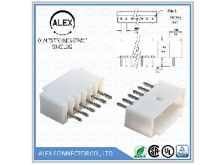 "Vertical Header / .059""(1.50mm) Wire-to-Board Connectors  1513-xx"