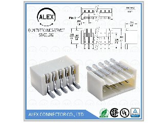 "Right Angle Header, SMT / .059""(1.50mm) Wire-to-Board Connectors 1516-xx"