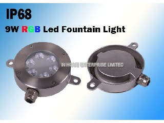 High Stability LED Underwater Pool Fountain Light / LED Pool Light With 6 Leds  IH-SD-N6X1F