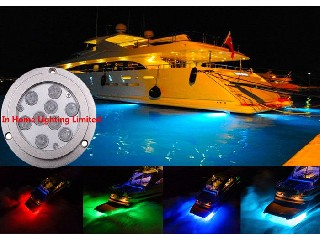 3M IP68 RF / Bluetooth Boat Underwater LED Lights Waterproof Energy Saving  IH-UL-27WP