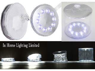 Rechargeable Marine Underwater LED Lights PVC Inflatable Led Solar Lantern For Camping  IH-SL-PC01