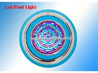 Stainless Steel Round LED Underwater Pool Lights 35W Wall Mounted High Efficiency   IH-pool light-30