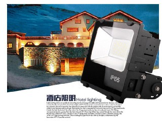 120 Exterior 50 Watt Led Flood Light Outdoor CE And Rohs Certification   IH-FL-30W-3A