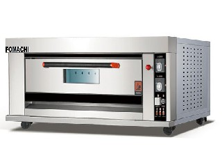 Electric Baking Deck Oven All S/S 1 Deck 2 Trays FMX-O120A