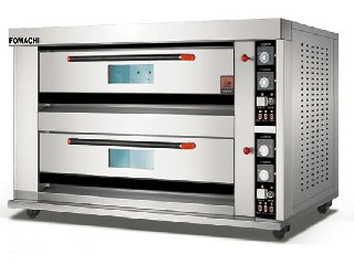 Electric Bakery Deck Oven All S/S 2 Deck 4 Trays Electric Bakery Deck Oven FMX-O120B