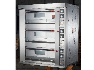 Electric Bread Deck Oven All S/S 3 Deck 6 Trays Electric Bread Deck Oven FMX-O120C