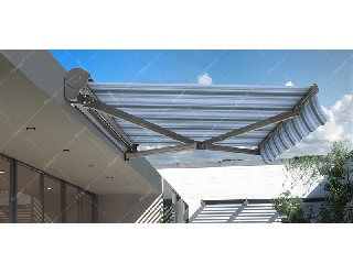 3432 Half-cassette Retractable Awning