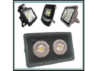 100W Waterproof IP65~66 die cast aluminum housing led flood light  HN-P104