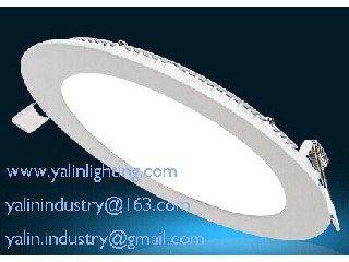round LED panel downlight, ultra thin SMD down light, 2835SMD 12W ceiling lights