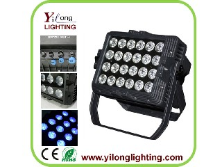 24PCS RGABWUV outdoor par led lighting
