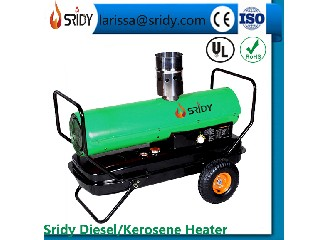 indirect industrial diesel heaters  DH-15B 15kw kerosene warm air heating exchange machine