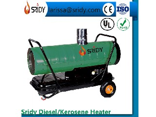 indirect industrial diesel heater 20kw kerosene heating machien oil forced heaters