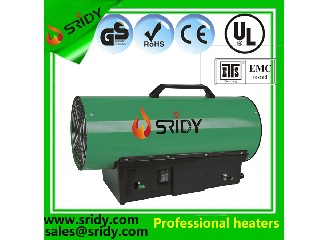 industrial manual gas heating machine 50kw propane heating equipments air burning warm heater space