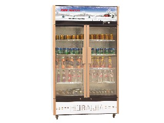 Good quality commercial regruferator with two doors Medicine cabinet