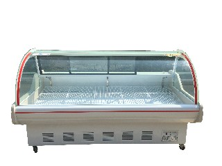 New direct-cooling cold fresh meat cabinet
