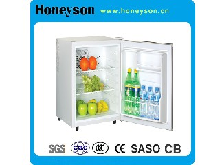 65L Hotel Auto-Defrost Freezer Mini Bar Fridge HS-65A