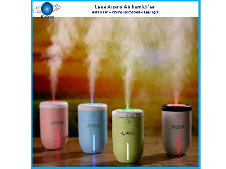 Lens Shape Humidifier with Aroma Wax  ELAH-001